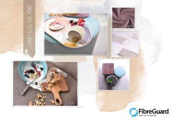 tissu d' ameublement  entretien facile  FibreGuard KOBE